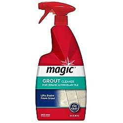 Magic Grout Cleaner for Ceramic & Porcelain Tile, 887ml