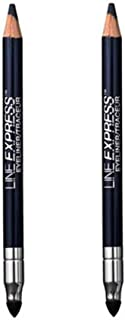 Pack of 2 Maybelline Line Express Wood Pencil Liner, Blackened Sapphire 908