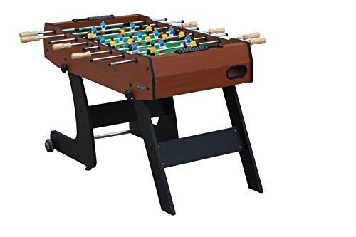 "Kick Monarch 48"" in Folding Foosball Table (Brown)"