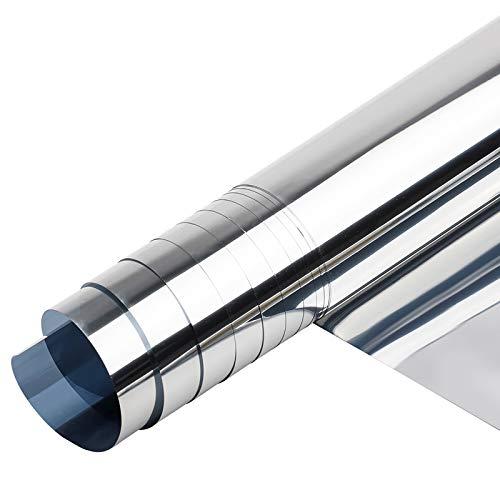 XINDA Glas-Solar-Wärmedämmungsfolie, Fensterfolie, selbstklebend, Einweg-Fensterfolie gegen UV-Strahlen, 200 x 40 cm
