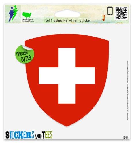 Swiss Coat of Arms Flag Vinyl Car B…