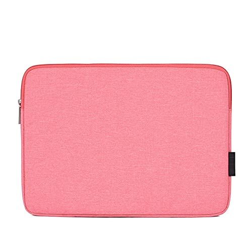 Waterproof Laptop Bag for MacBook Air Pro Retina 11 12 13 14 15 15.6 inch Laptop Sleeve Case Tablet Cover for Men-Pink_14-inch