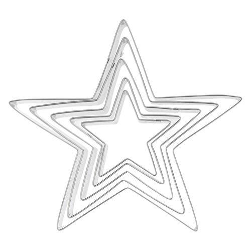 THUN ® - Set 5 formine per Albero di pandoro - Linea Dolce Natale