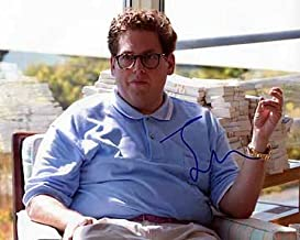 JONAH HILL (The Wolf of Wall Street) 8x10 Male Celebrity Photo Signed In-Person