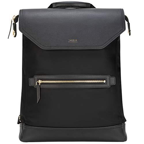 15インチラップトップおよびタブレットビジネスメッセンジャーバックパック用Targus Newport Convertible 2-in-1、ブラック(TSB965GL)