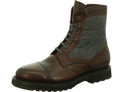 Dirndl & Bua Warmfutter Stiefel Winter Größe 42 EU Braun (braun-Kombi)