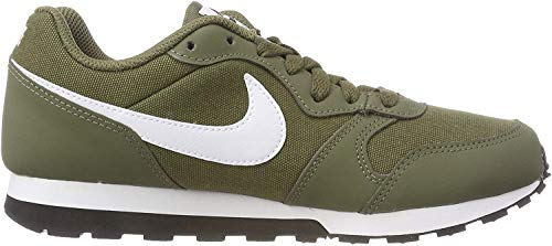 Nike Herren MD Runner 2 (GS) Sneakers, Mehrfarbig (Medium Olive/White/Black 001), 40 EU