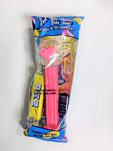 PEZ Candy Pez Emojis Assorted Candy Dispensers, 0.58 Oz, 6.96 Oz (Pack of 12)