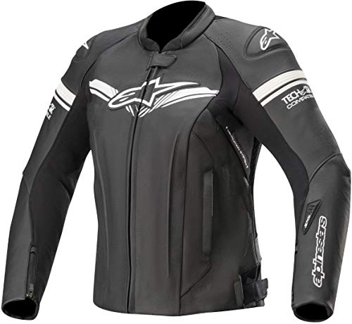 Alpinestars Motorradjacken Stella Gp-r Leather Jkt Tech-air Compatible Black, BLACK, 46
