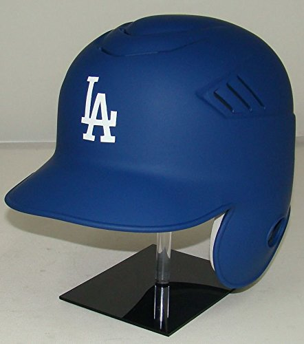 Los Angeles Dodgers Matte Blue MLB New Coolflo Style Official Authentic Batting Helmet (for Right Handed Batter)