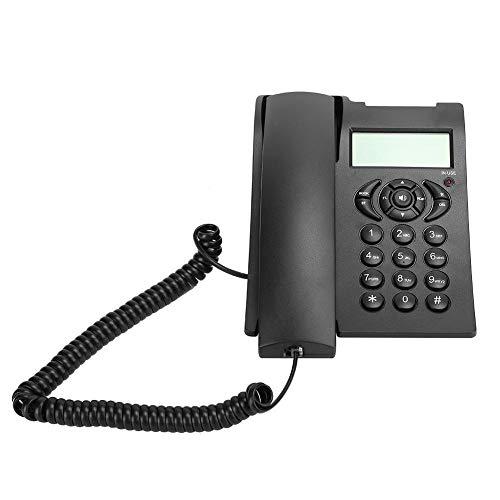 Línea Fija de Oficina Comercial, con FSK y DTMF, Llamada con Manos Libres en el hogar, marcación con un Toque, teléfono Fijo en el hogar del Hotel(estándar)