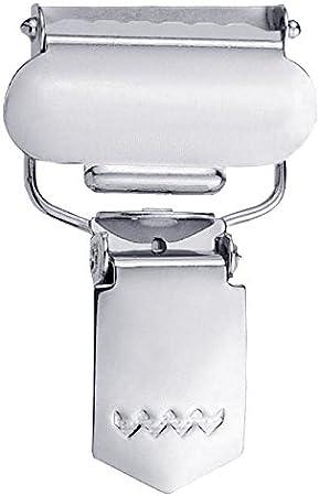 18 mm 2 St/ück silberfarbig Poliestere Prym COMBI Clip per con fibbia pieghevole per bretelle