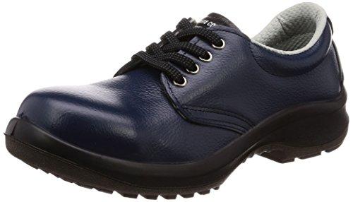 ミドリ安全 安全靴 短靴 プレミアムコンフォート LPM210 ネイビー 22.0cm(女性用)
