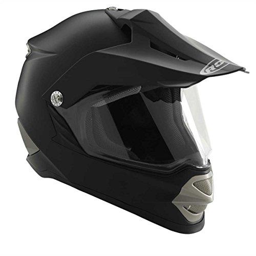 ROCC 850 Endurohelm, Farbe matt-schwarz, Größe L(59/60)