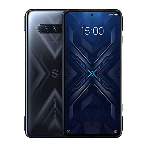 Black Shark 4 5G 12 + 128 GB Smartphone Snapdragon 870 144 Hz E4 Bildschirm Amoled DC Verdunklung UFS 3.1 Spiegel Schwarz