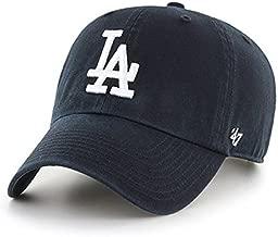 '47 Brand MLB Los Angeles Dodgers Clean up Cap - Black