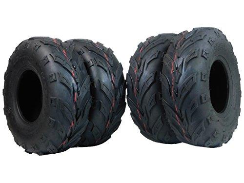 4 Pack of 145/70-6 MASSFX Tires Go-Kart, mini bike, ATV, Lawn Tires 145x70-6 145x70x6