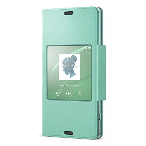 Sony Smart Style Cover SCR26 für das Sony Xperia Z3 Compact- Meergrün