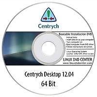 Centrych Linux 12.04 Desktop Live (64Bit) - Bootable Linux Installation DVD