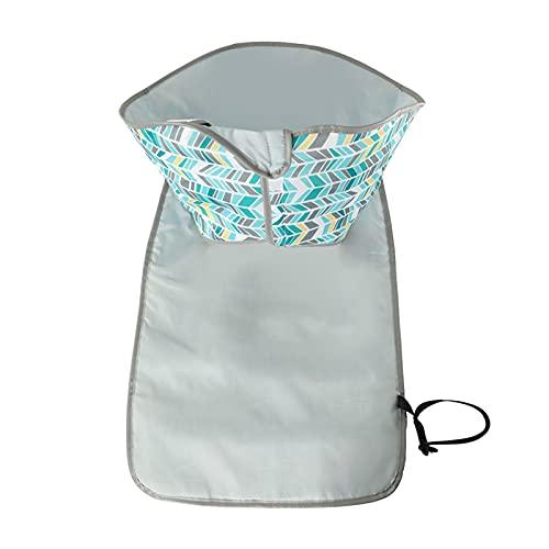 WangQianNan Cambiador de bebé plegable y duradero, tapete de viaje plegable, bolsa de pañales impermeable para bebés (color: estilo 5)