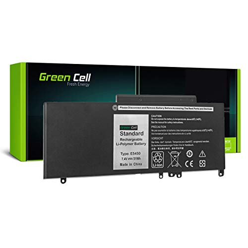 Green Cell Battery for Dell Latitude 5450 5550 E5450 E5550 P37F P37F001 P48G P48G001 Laptop (5800mAh 7.4V Black)