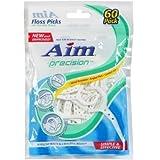 Aim Precision Floss Picks, 60-ct. Packs (Pack of 5)