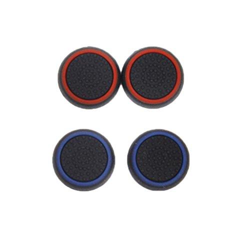 gazechimp 4pcs Joystick Thumb Grip Caps Para Sony PS4 PS3 Xbox 360 / One Game Controller