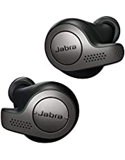 Jabra Elite 65t Oordopjes – Bluetooth Oordopjes met Passieve Ruisonderdrukking en Vier-Microfoontechnologie voor Echt Draadloos Bellen en Muziek Luisteren – Titaniumzwart
