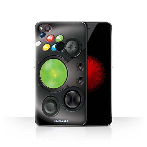 Hülle Für ZTE Nubia Z11 Mini Spielkonsolen Xbox Design Transparent Ultra Dünn Klar Hart Schutz Handyhülle Case