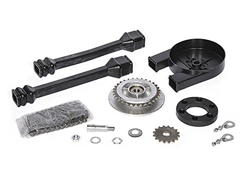 Satz Antriebsteile SR50, SR80 (14-Teile - Kette+Kettenschutz+Kettenschlauch+Mitnehmer+Ritzel usw.)