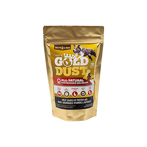 Top 10 best selling list for gold dust supplement for dogs