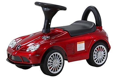 Actionbikes Motors Kinder Rutschauto Mercedes SLR - Lizenziert - Stauraum unter Sitz - Kinder Baby Rutsch Auto ab 1 Jahr - Spielzeug für Kinder (Rot lackiert)