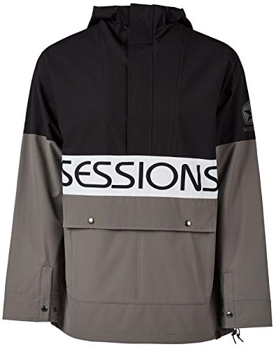 Sessions Herren Snowboard Jacke Chaos Pullover Jacket