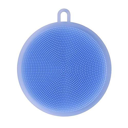 PV Silikonschwamm Antibakteriell Mehrzweck Küchen Spülbürste Schimmelfrei Silikon Schwamm (Blau)