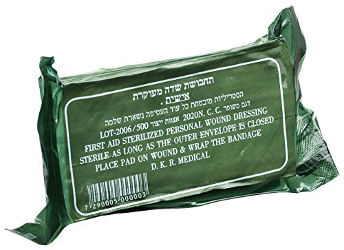 Pack of 20 IDF Israeli Army Dressing/Bandage by Dakar …
