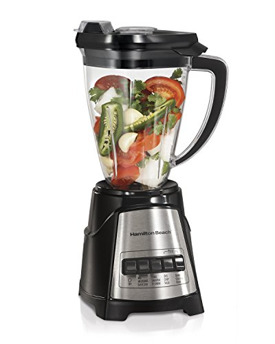 powerful Hamilton Beach Multiblend Blender and Food Chopper. There are four functions, dicing, chopping, and shaking, and …