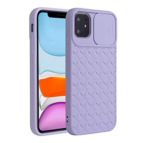Fadter Carcasa para iPhone 12 con protección de cámara, carcasa de silicona para teléfono móvil, 360 grados, suave, para iPhone 12 (6)