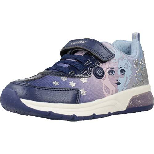 Geox Mädchen Spaceclub Sneaker Sneaker Größe 27 EU Blau (blau)