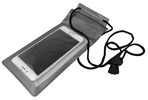 veryme THEVERY - Supporto Bicicletta, Supporto Smartphone, Supporto Cellulare per Il Manubrio - Impermeabile - all'Esterno 95x165x25mm - all'Interno:80x150x20mm