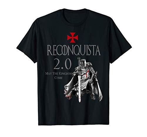 Reconquista 2.0 Christian Warrior Tops T-Shirt