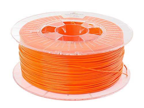 Spectrum PET-G Lion Orange, 1.75mm, 1kg of premium PETG filament made in EU for desktop 3D printer