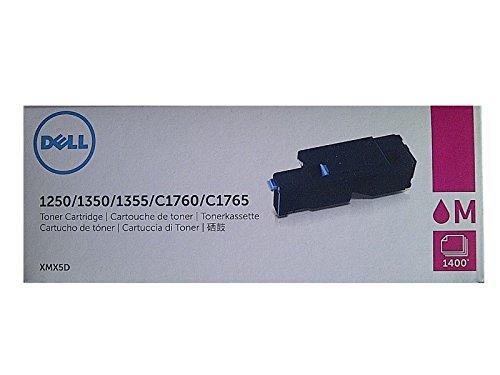 Dell Original Tonerkartusche mit hoher Kapazität für 1250/1250c/1350cn/1350cnw/1355cn/1355cnw/C1760/C1760nw/C1765/C1765nf/C1765nfw/C17XX, Magenta
