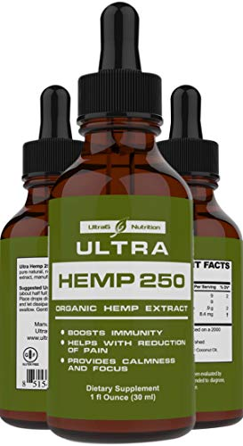 100% Pure Hemp Oil for Pain Relief - Best Selling...