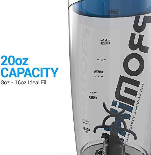 PROMiXX/iX-RUSB充電式電動プロテインシェーカーボトル600ml(2019年モデル)