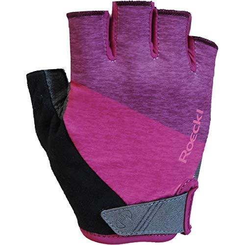 Roeckl Bergen Fahrrad Handschuhe kurz pink 2020: Größe: 8