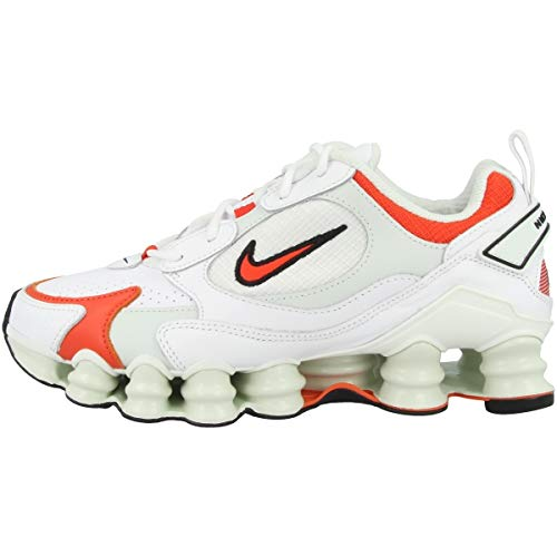 Nike Damen AT8046-101 Laufschuh, White/Team Orange-Spruce Aura-Black, 44 EU