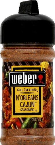Weber Grill Seasoning Norleans Cajun, 2.7500-ounces (Pack of6)