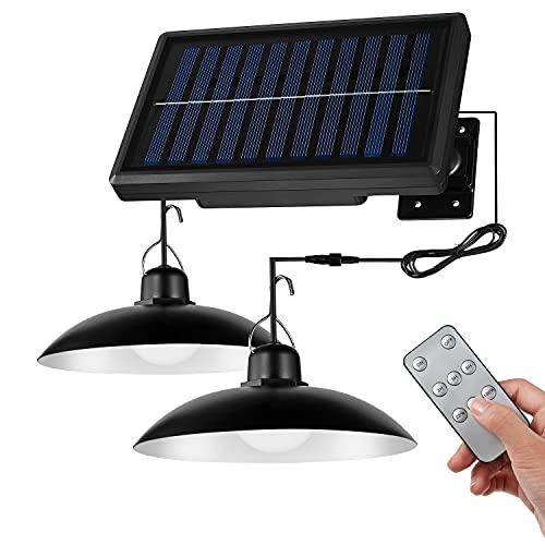 分離型 ソーラーライト屋外LEDセンサーライト3m延長ケーブル、輝度調整、調光、タイミング機能、リモートコントロール、設置が簡単、ソーラーパネル充電、電気代なし、センサーライト、独立した高輝度LED、防水、安全、屋内/屋外の入り口/庭/駐車場など