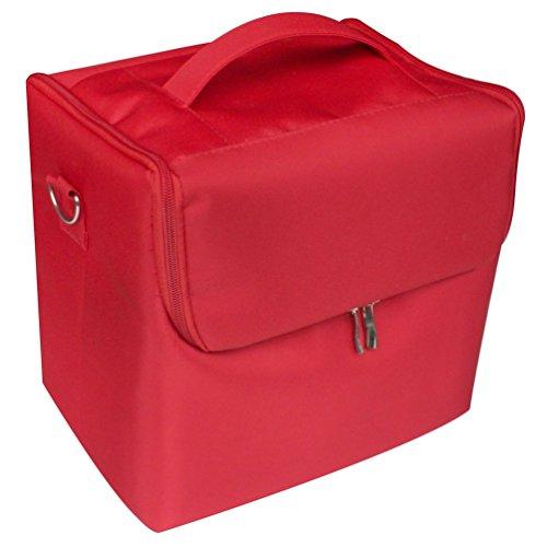 Glow Rouge Vanity/ Beauty case/ Maquillage Sac/ Trousse de toilette/ Cosmétique Organisateur