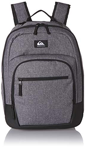 Quiksilver Men's Schoolie Cooler II Backpack, Light Grey Heather, 1SZ